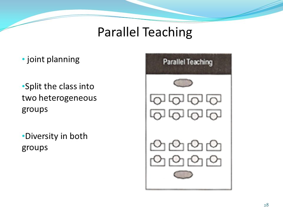 Parallel Teaching joint planning