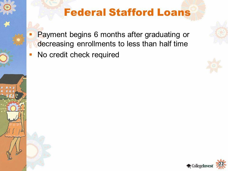 Federal Stafford Loans