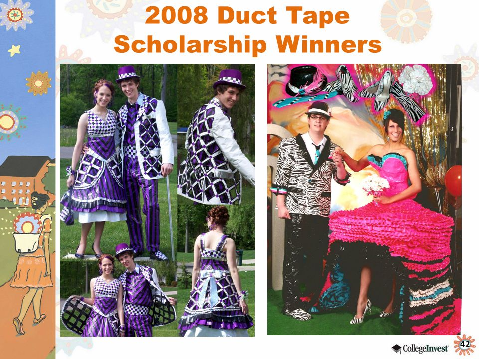 2008 Duct Tape Scholarship Winners