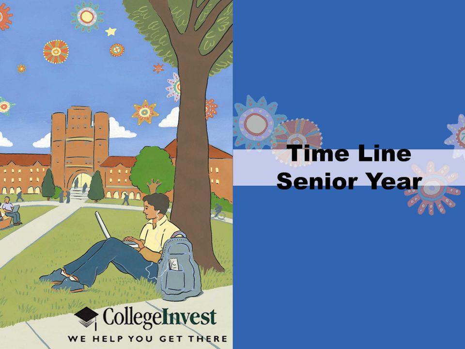 Time Line Senior Year