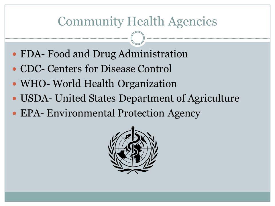Community Health Agencies