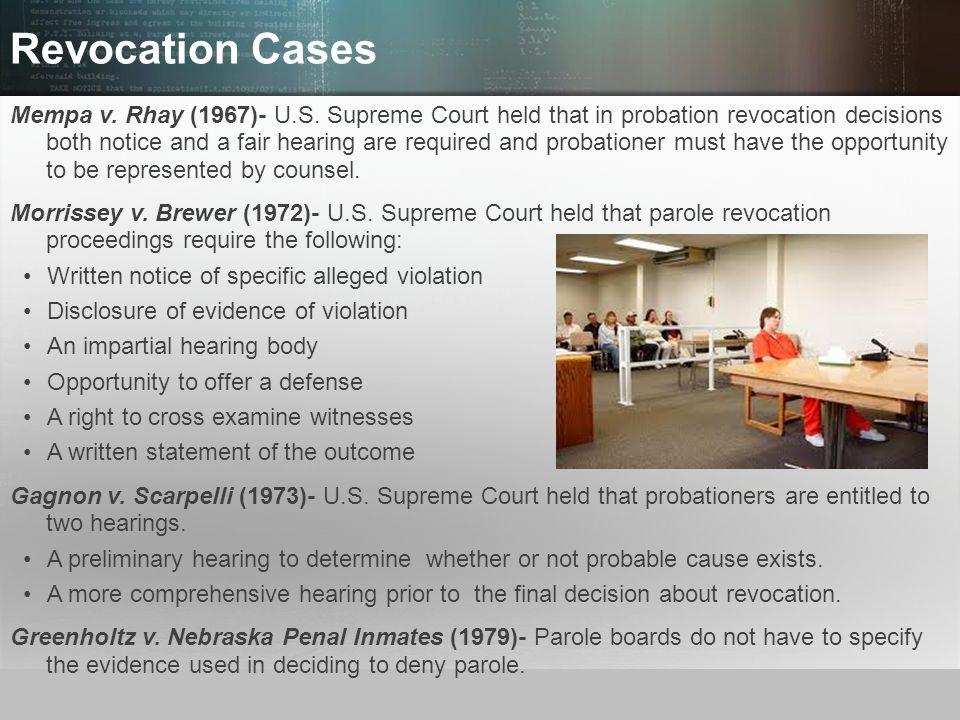Revocation Cases