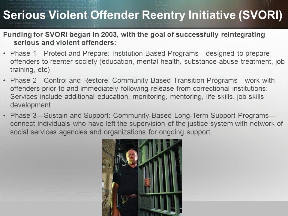 Serious Violent Offender Reentry Initiative (SVORI)