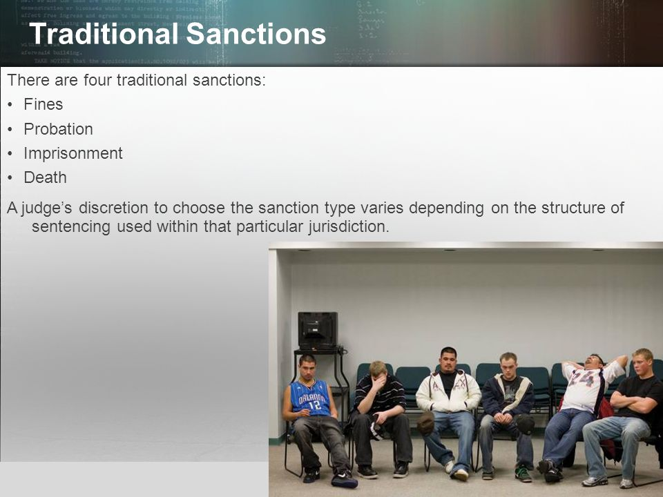 Traditional Sanctions