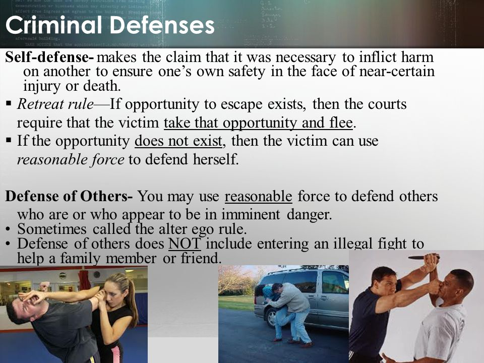Criminal Defenses