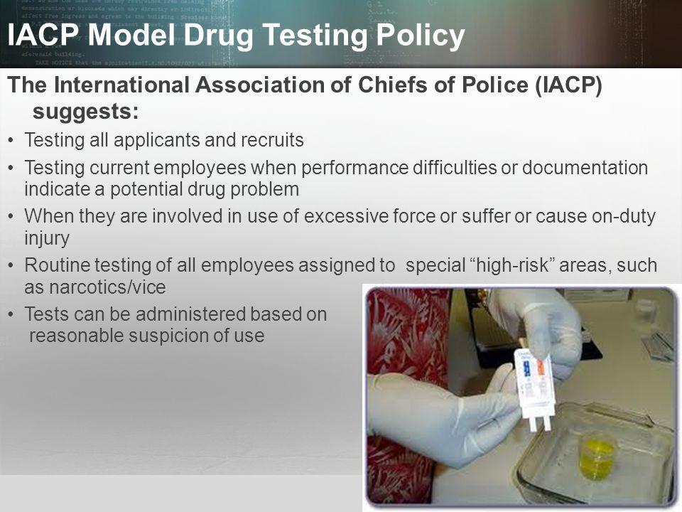 IACP Model Drug Testing Policy