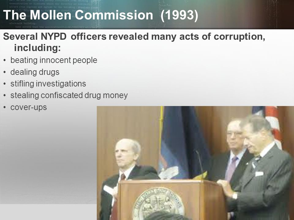 The Mollen Commission (1993)