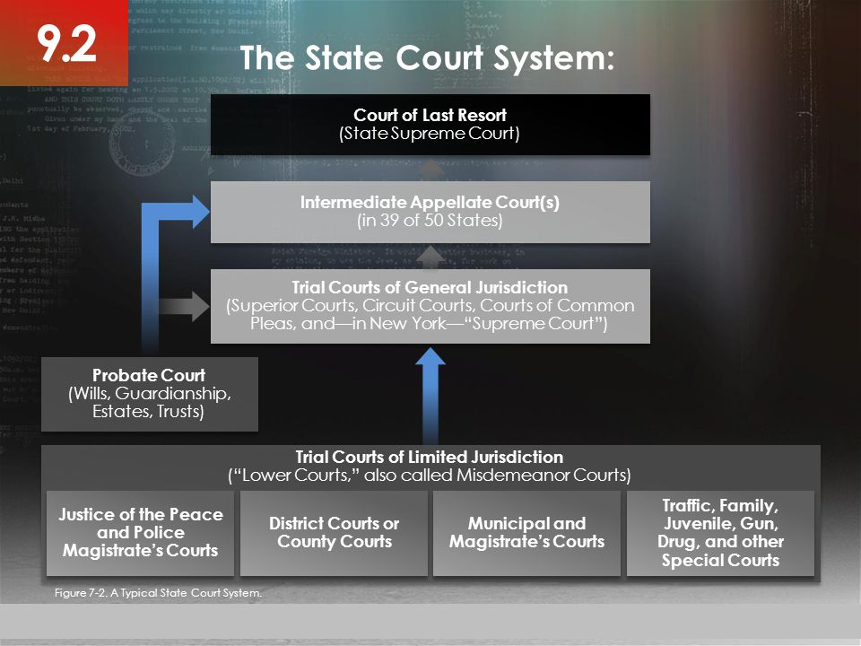 9.2 The State Court System: Court of Last Resort (State Supreme Court)
