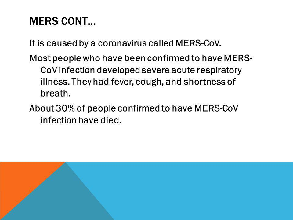 MERS CONT…