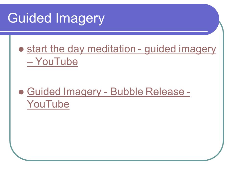 Guided Imagery start the day meditation - guided imagery – YouTube