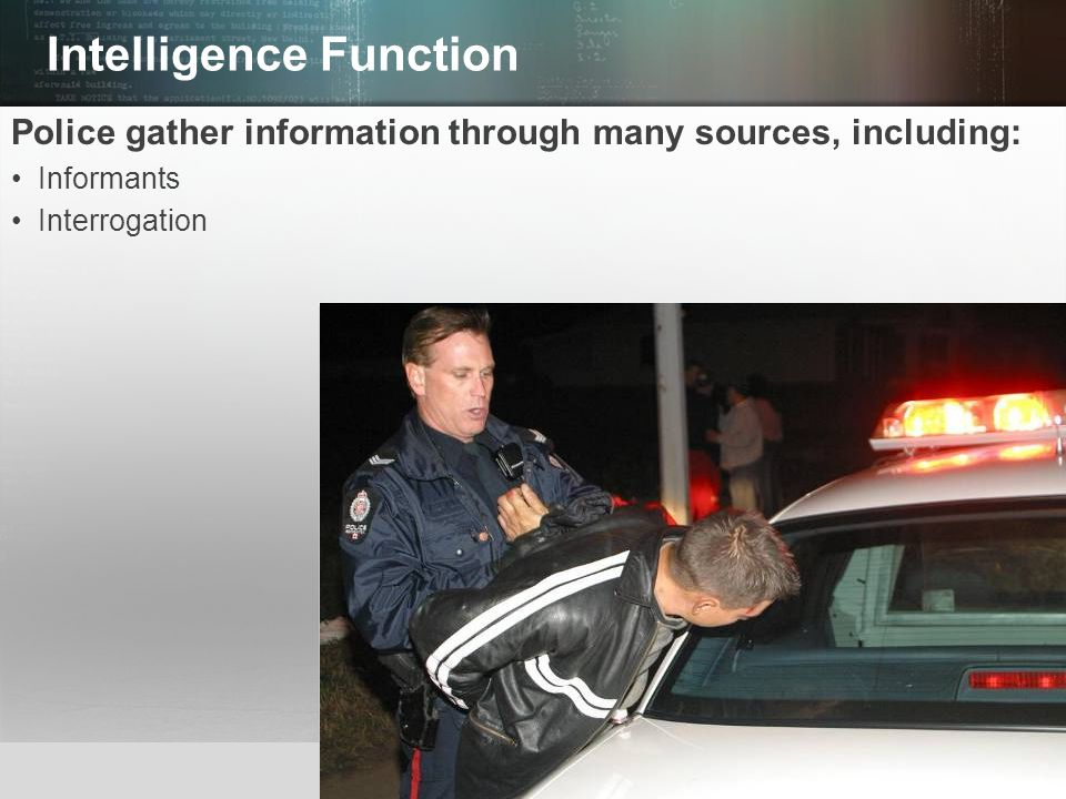 Intelligence Function