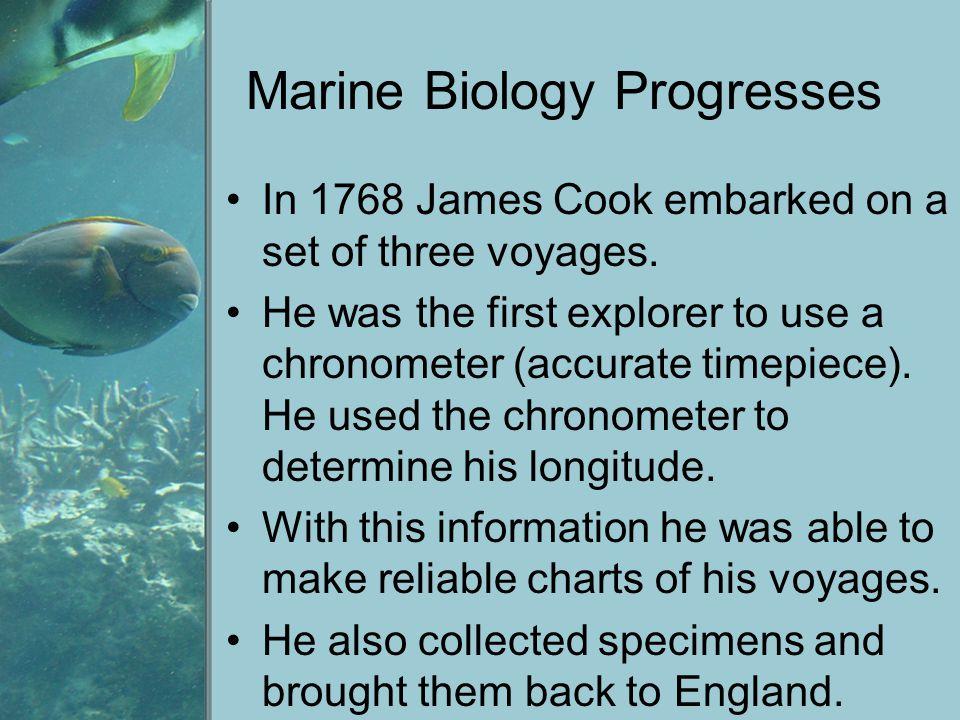 Marine Biology Progresses