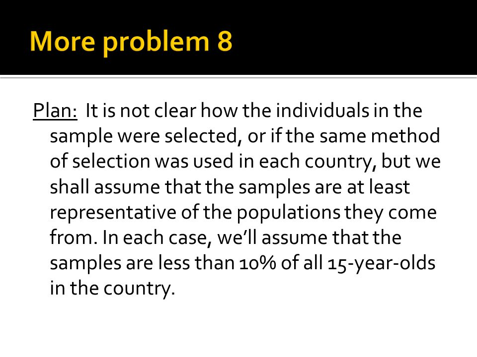 More problem 8