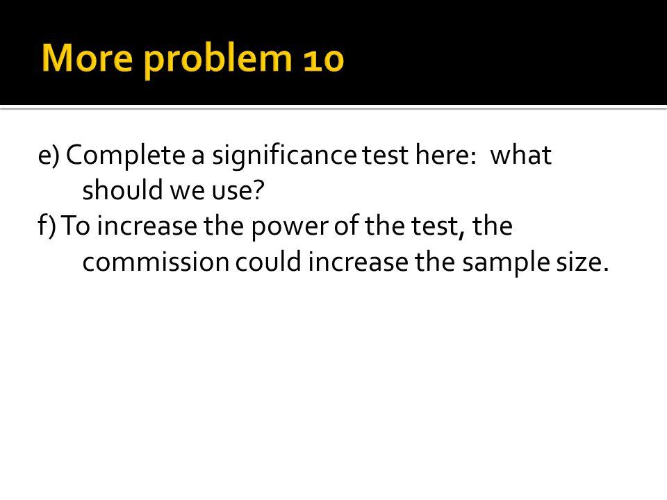 More problem 10