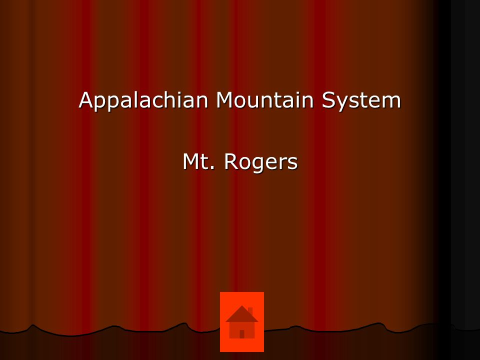 Appalachian Mountain System