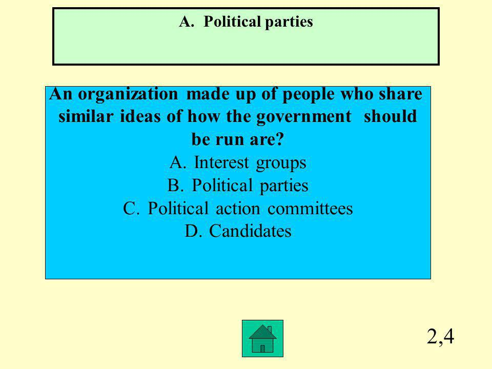 2,4 An organization made up of people who share
