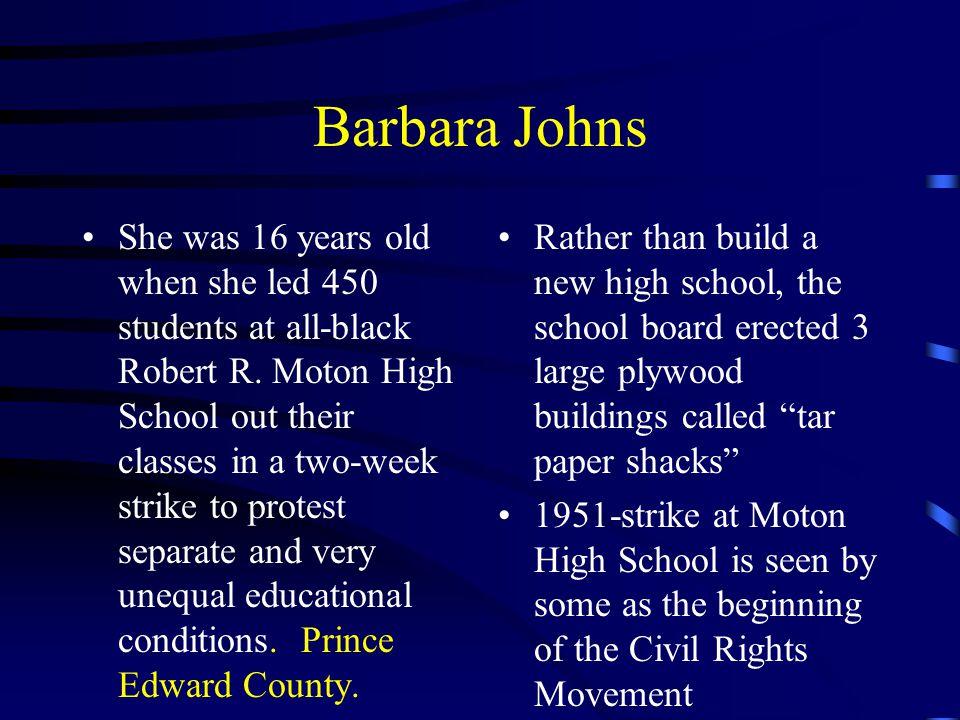 Barbara Johns
