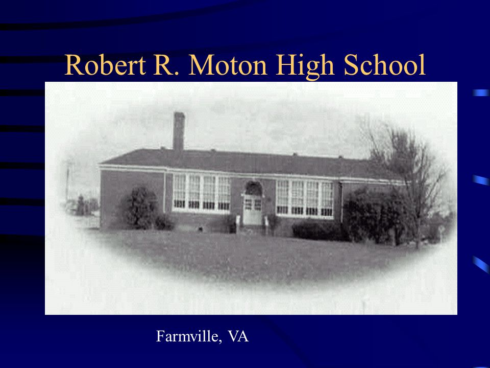 Robert R. Moton High School