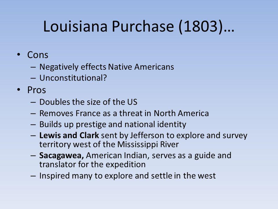 Louisiana Purchase (1803)…