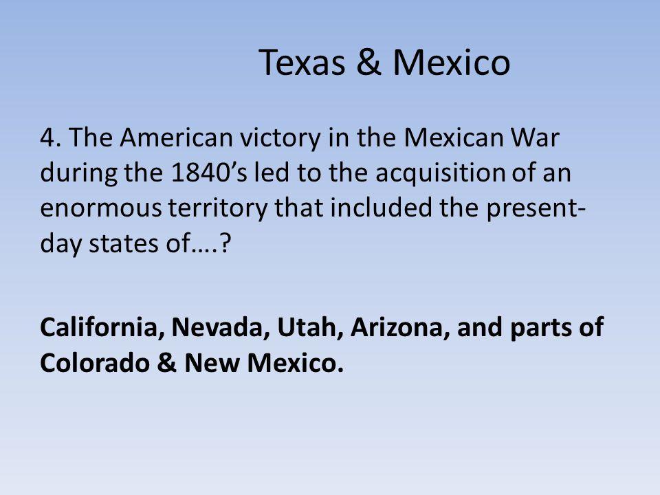 Texas & Mexico