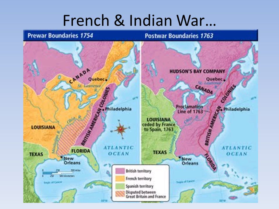 French & Indian War…