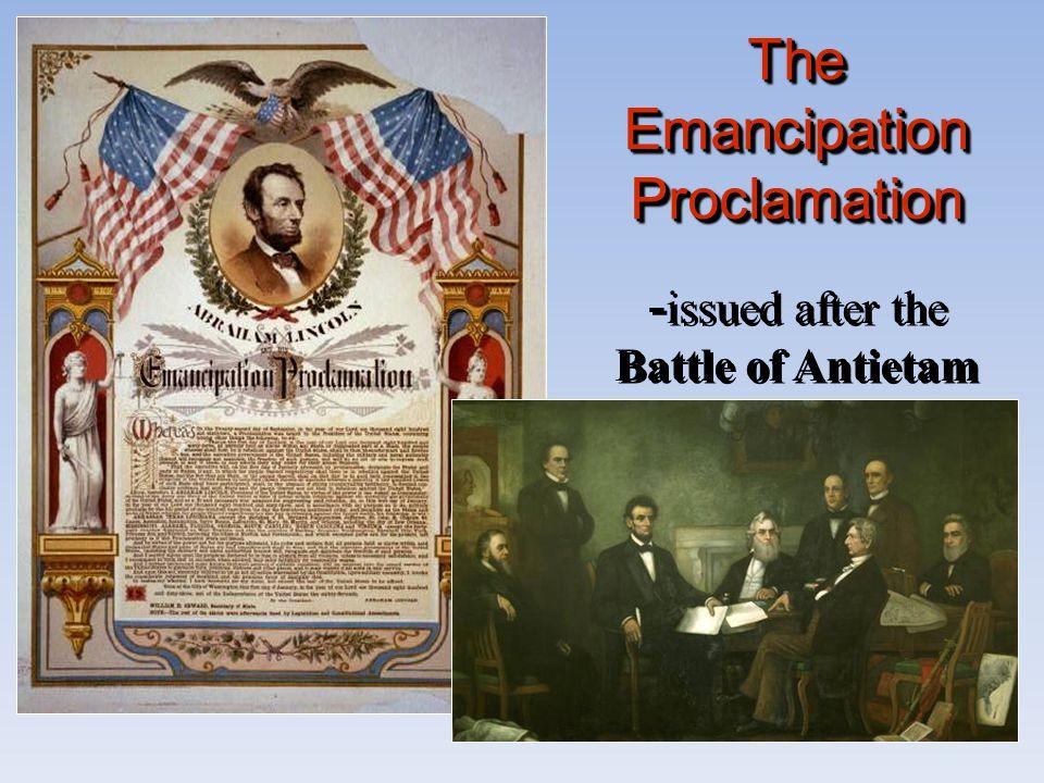 The Emancipation Proclamation