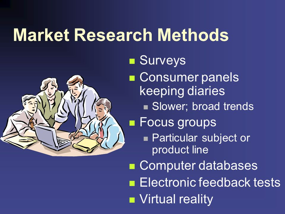Market Research Methods