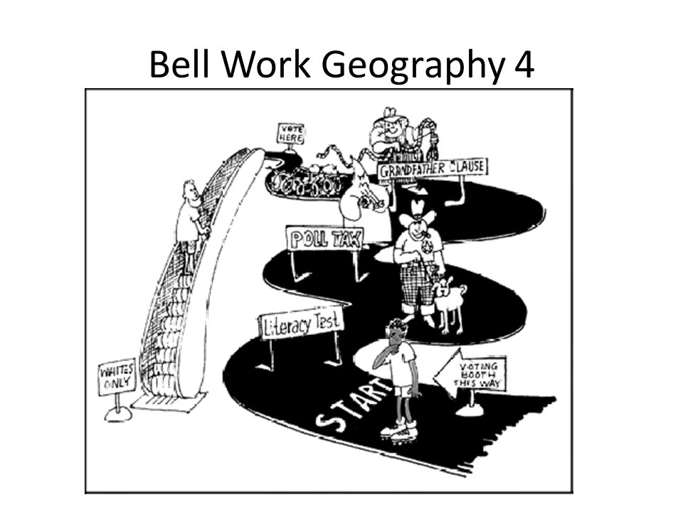 Bell Work Geography 4