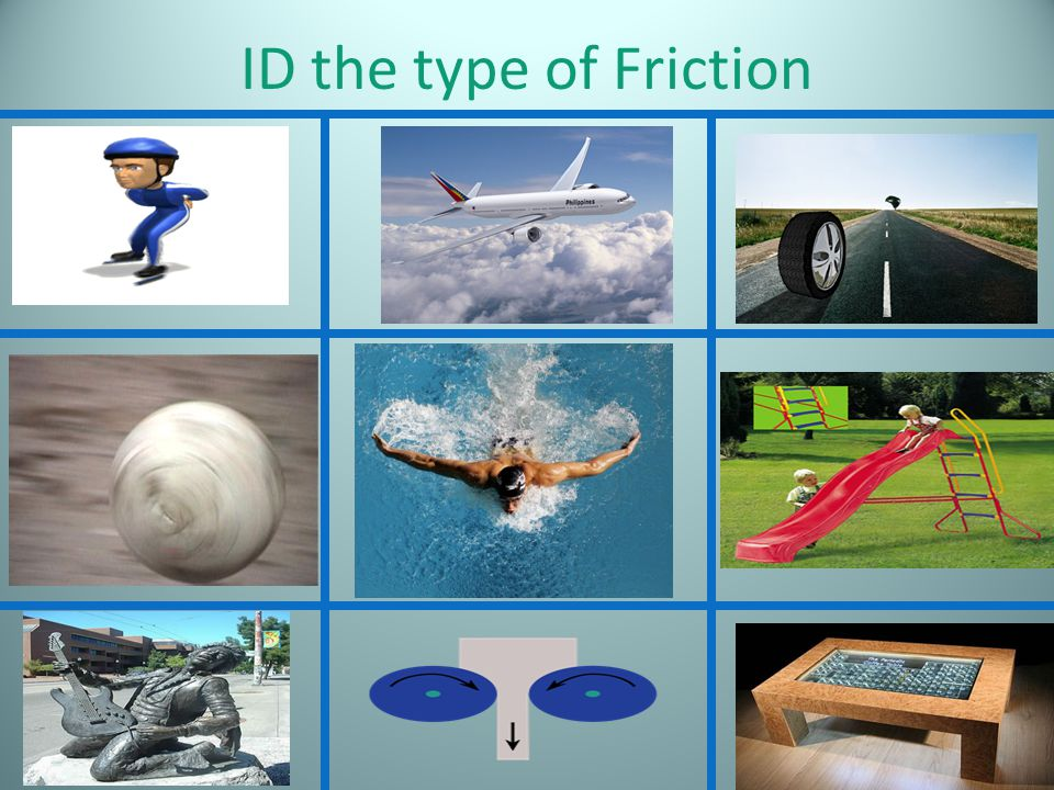 ID the type of Friction