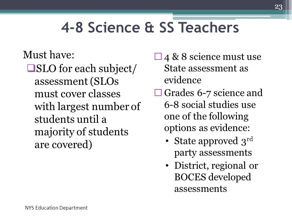 4-8 Science & SS Teachers Must have: