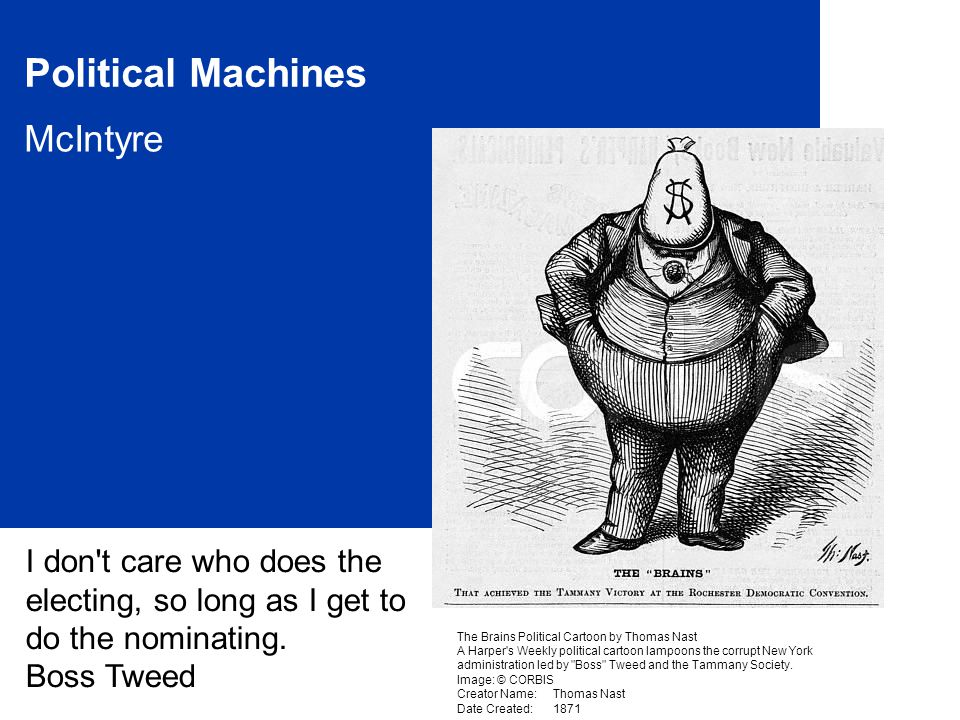 Political Machines McIntyre