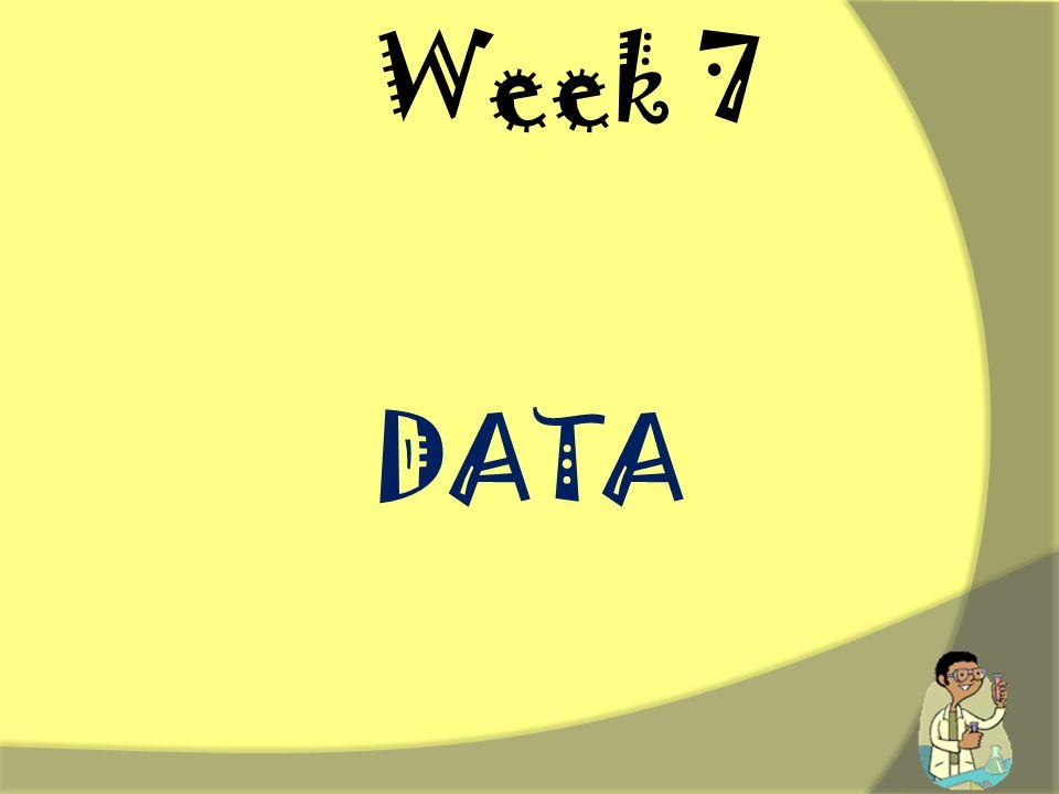 Week 7 DATA.