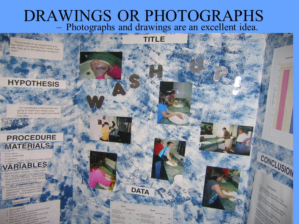 DRAWINGS OR PHOTOGRAPHS
