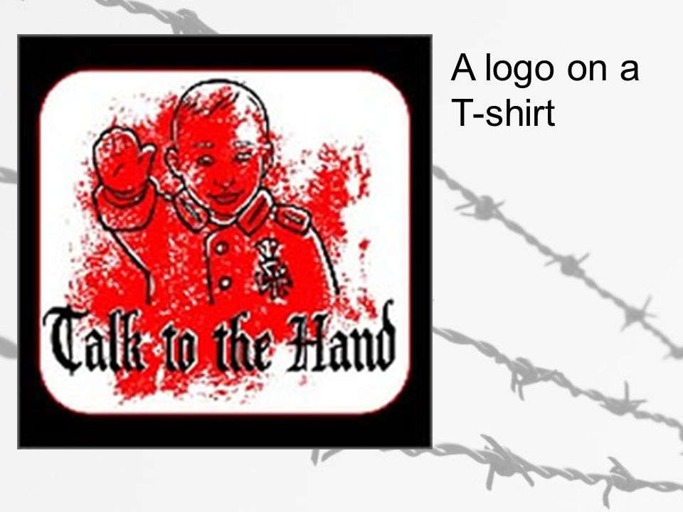 A logo on a T-shirt