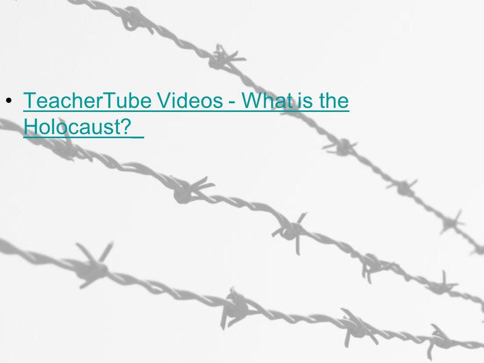 TeacherTube Videos - What is the Holocaust _