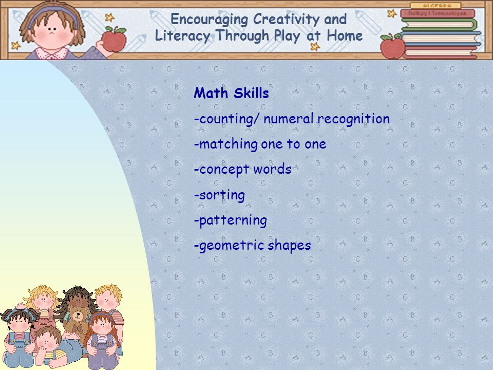 Encouraging Creativity and Literacy Through Play at Home