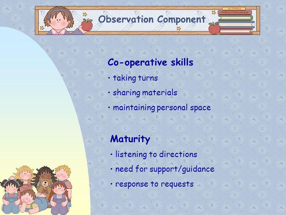 Observation Component