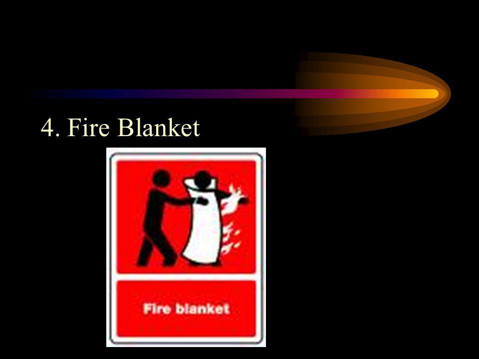 4. Fire Blanket