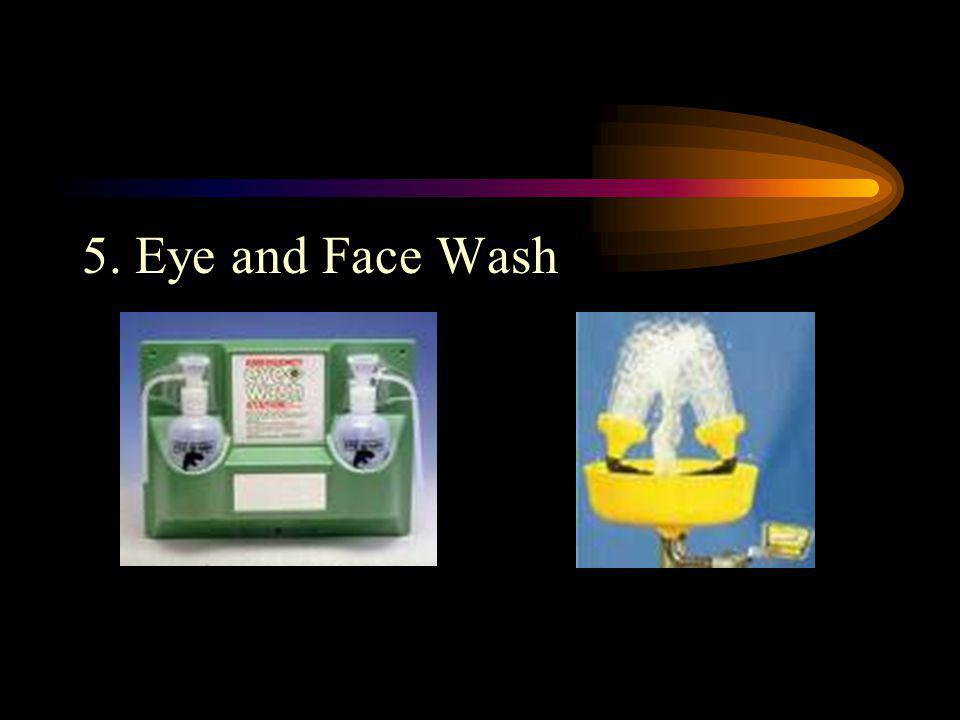 5. Eye and Face Wash