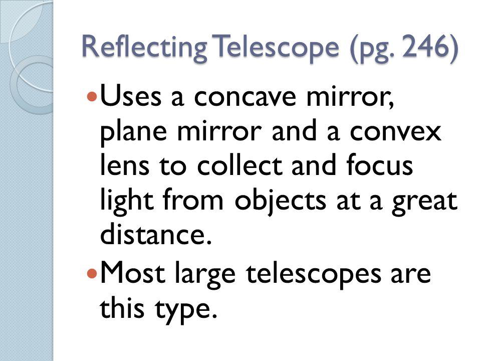 Reflecting Telescope (pg. 246)