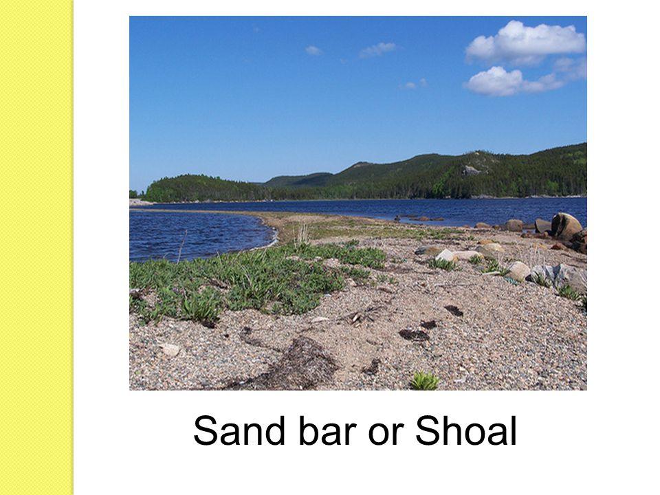 Sand bar or Shoal