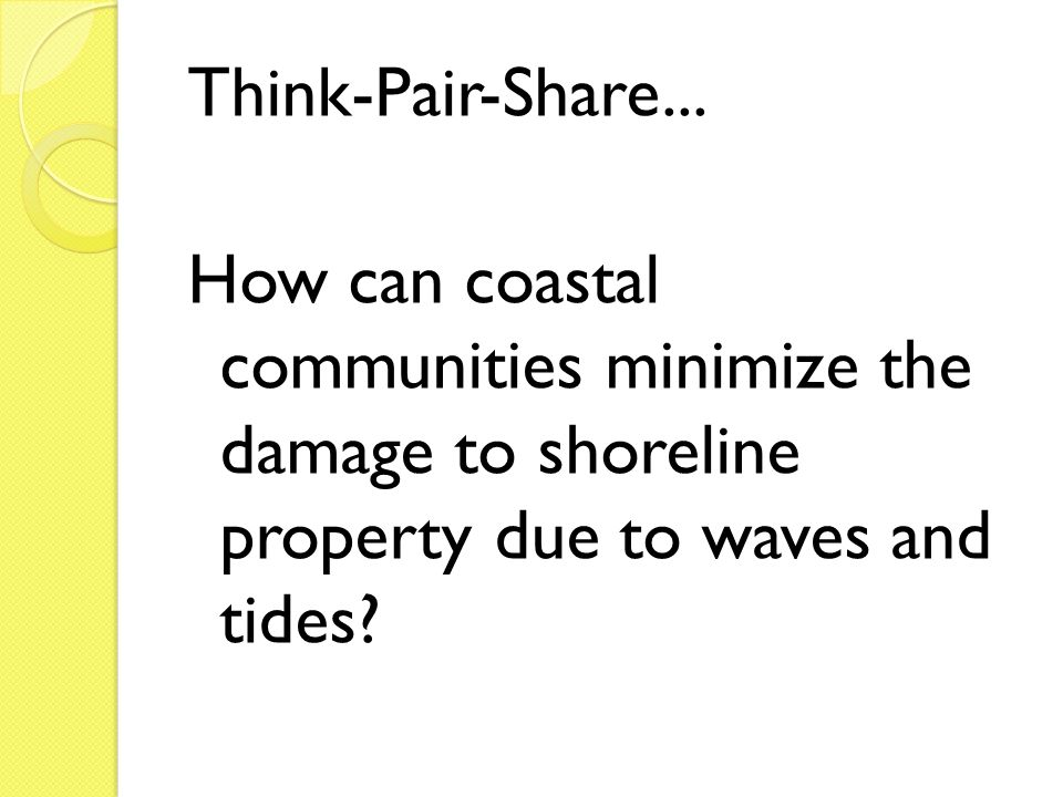 Think-Pair-Share...