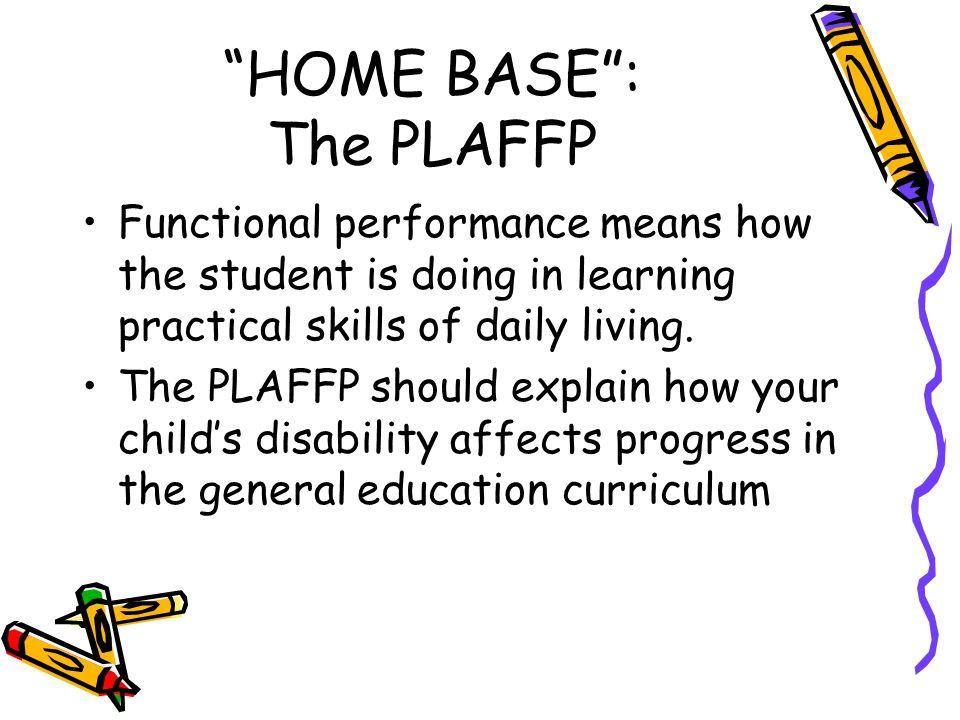 HOME BASE : The PLAFFP