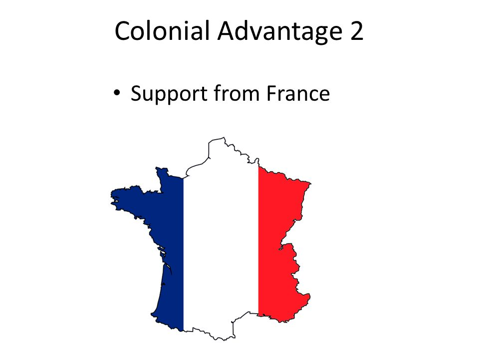 Colonial Advantage 2 Support from France