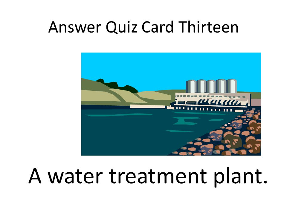 Answer Quiz Card Thirteen