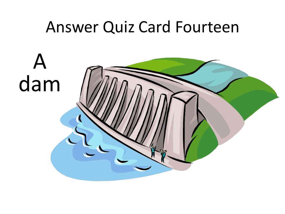 Answer Quiz Card Fourteen