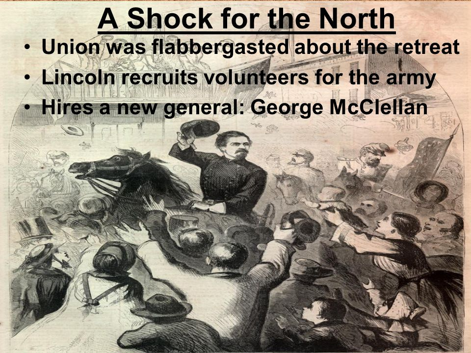A Shock for the North Union was flabbergasted about the retreat