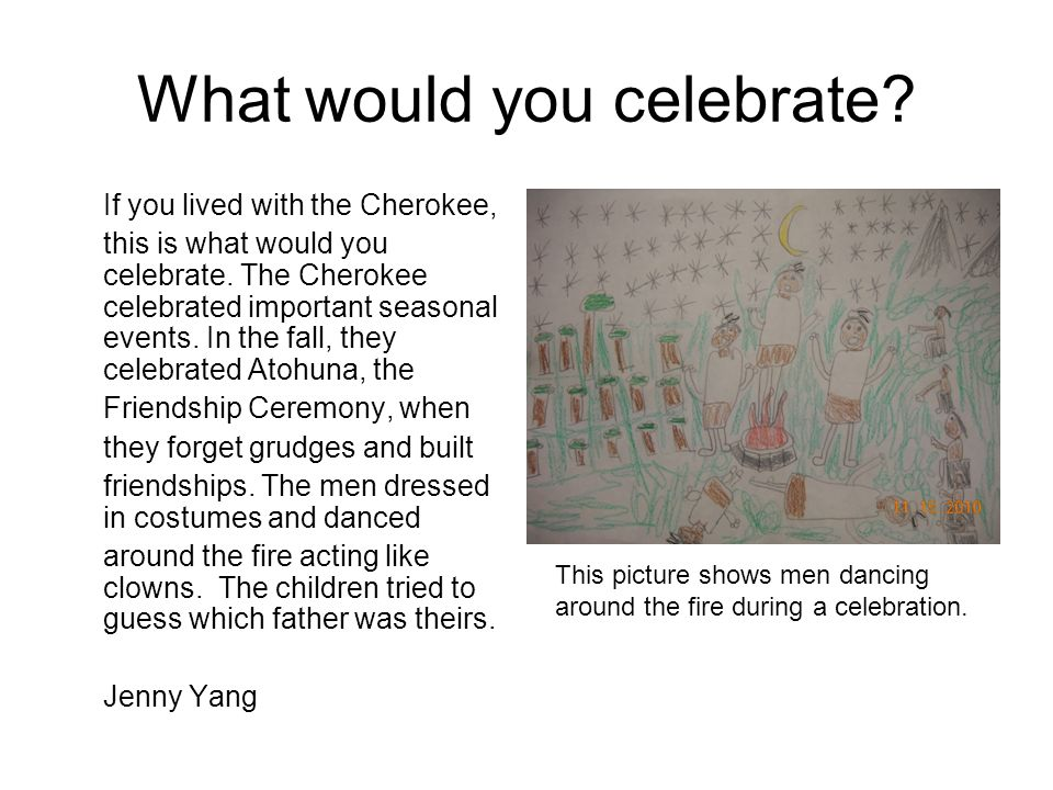 What would you celebrate