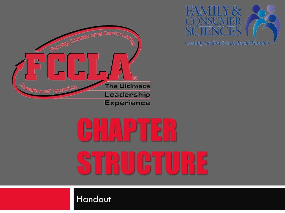 Chapter Structure NIcole Handout