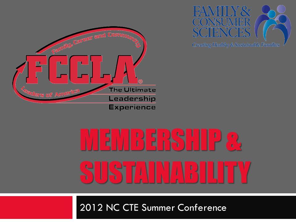 Membership & Sustainability